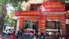 Tiệm vàng bạc Ngọc Hà ở đường Nguyễn Công Trứ, TP Hà Tĩnh, nơi xảy ra vụ trộm
