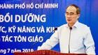Đồng chí Nguyễn Thiện Nhân báo cáo tại lớp bồi dưỡng. Ảnh: hcmcpv