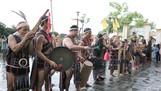 Các nhạc cụ truyền thống Cơ Tu tại lễ hội