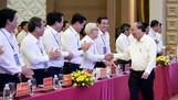 Thủ tướng Nguyễn Xuân Phúc chủ trì Hội nghị. Ảnh: QUANG HIẾU