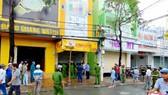 Cửa hàng kinh doanh đồ chơi trẻ em Thế giới đồ chơi B.B, nơi xảy ra vụ cháy