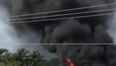 Cà Mau: Cháy lớn tại công ty thủy sản