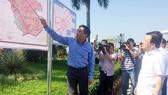 Phó Thủ tướng Trịnh Đình Dũng kiểm tra dự án sân bay Long Thành