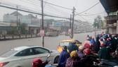 Mưa lớn, nhiều tuyến đường tại TP Biên Hòa ngập nặng