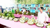 Agro-products of Hau Giang displayed (Photo: SGGP)
