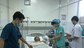 Patient transferred urgently from Truong Sa Island to HCMC saved