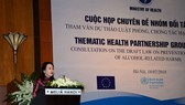 Vietnamese Health Minister Nguyen Thi Kim Tien at the meeting (Photo: Courtesy of WHO)