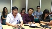 deputy head of the Vietnam-German Hospital's Emergency ward Dr. Le Viet Khanh at July 19 press brief (Photo: SGGP)