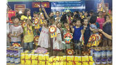Mang trung thu đến sớm với trẻ em mồ côi Tam Bình