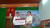 Tài trợ xây dựng trường học tại huyện đảo Lý Sơn