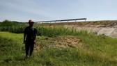 đất nông nghiệp bên đường cao tốc bị sa bồi