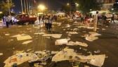 Xả rác bừa bãi là hành vi rất kém văn hóa