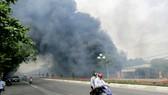 Cháy lớn tại TP Vũng Tàu, nhiều căn nhà bị trùm trong khói lửa