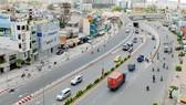 Đường Nguyễn Hữu Cảnh đoạn qua quận Bình Thạnh. Ảnh: CAO THĂNG
