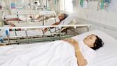 Bệnh nhân đang điều trị sốt rét tại Bệnh viện Bệnh nhiệt đới TPHCM