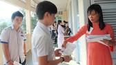 Thí sinh dự thi kỳ thi tốt nghiệp THPT quốc gia năm 2017