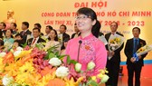 Đồng chí Trần Thị Diệu Thúy tái đắc cử Chủ tịch Liên đoàn Lao động TPHCM khóa XI