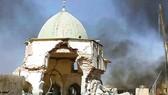 Đền thờ Grand al-Nuri, khu di tích lịch sử nổi tiếng tồn tại suốt 8 thế kỷ qua, đã bị IS phá hủy