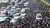 考察結果顯示,逾九成河內民眾同意市區禁二輪車。(示意圖源:互聯網)
