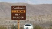 圖為危險警告牌。研究發現熱浪是最致命的天氣影響,佔未來所有死亡人數的99%。(示意圖源:互聯網)