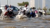 預報未來幾天本市各條河流的水位將超過3號警戒線,市內多處將受淹。(示意圖源:互聯網)