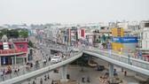 高架橋通車可緩解交通堵塞。
