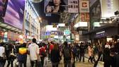 香港是接近國際客戶通道。圖為香港旺角西洋菜南街一隅。(示意圖源:互聯網)
