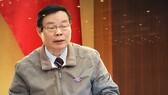 國會副主席馮國顯在會上發言。