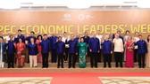 出席2017年APEC 峰會週各經濟體領導人大合照。