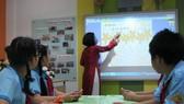 撥資 360 億元提升英語教師水平。圖為本市某一小學英語課堂一隅。(示意圖源:互聯網)