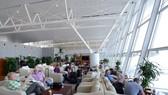 內牌躋身全球百大機場排行榜。圖為內牌機場國際航線候機室一瞥。(圖源:Zing)