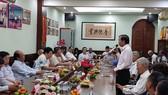 第五郡各華人會館季度定期聚會現場一瞥。