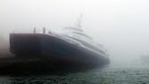 一艘載有百餘人的客輪在韓國西南海域觸礁。(圖源:互聯網)