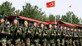土方向伊承諾不會展開越境軍事行動。圖為土伊邊境的土耳其步兵。(圖源:互聯網)