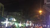 上月30日晚上開業的永慶飲食街一瞥。(圖源:紅芳)