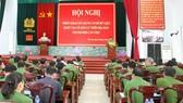 昨(5)日,芹苴市公安廳舉行展開建立該市居民國家數據庫會議。