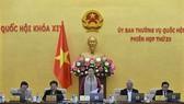 國會主席阮氏金銀在國會常務委員會第23次會議上致開幕詞。(圖源:Quochoi.vn)