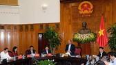 政府總理阮春福在會上發表講話。(圖源:光孝)
