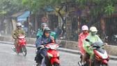 由於受到冷空氣加強的影響,北部各省將有中到大雨。(示意圖源:互聯網)