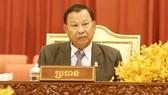 賽沖當選柬埔寨第四屆參議院主席。(圖源:AKP)