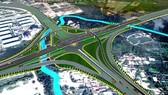 美水交通樞紐高架橋延期完成。圖為美水交通樞紐高架橋總體設計圖。