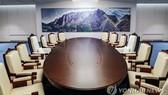 韓朝首腦會談的會場。(圖源:韓聯社)