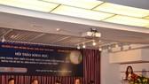 """圖為""""越南改良劇一個世紀形成與發展(1918年至2018年)及相關問題、導向與發展措施""""研討會一瞥。(圖源:孟好)"""