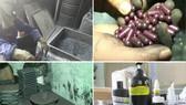 使用竹炭粉生產輔助治療癌症藥物的Vinaca系列產品一隅。(圖源:互聯網)