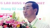 同塔省高嶺市副主席鄧文囊。(圖源:同塔報)