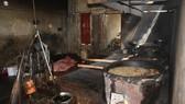 違規煉製豬油單位現場。(圖源:黎琳)