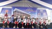 市衛生防疫中心新辦事處動工儀式。