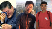 獲朝鮮釋放的3名美國公民Kim Dong-chul(左一)、Kim Hak-song(中)和Tony Kim。(圖源:互聯網)
