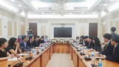 市領導接見訪問本市的韓國大邱市代表團。(圖源:市黨部新聞網)