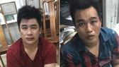 被逮捕的2名嫌犯阮晉財(左)與阮黃珠富。